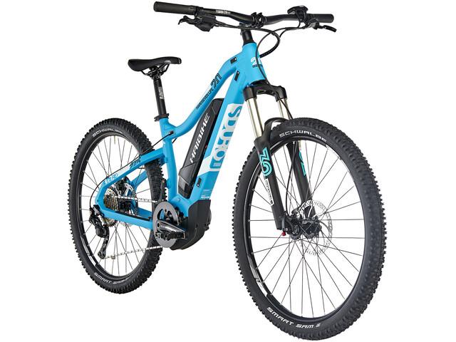 HAIBIKE SDURO HardSeven Life 2.0 E-mountainbike Damer blå (2019) | Mountainbikes
